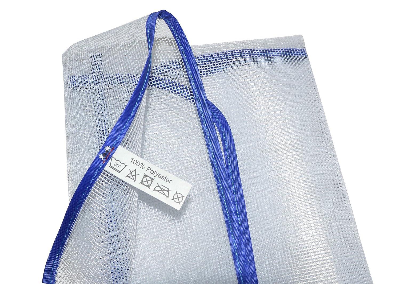 perl/ón all-around24/® Plancha para Tejidos sensibles como Nailon Protector de Planchado Seda Ayuda para Plancha de Vapor Blanco 1 Unidad Toalla