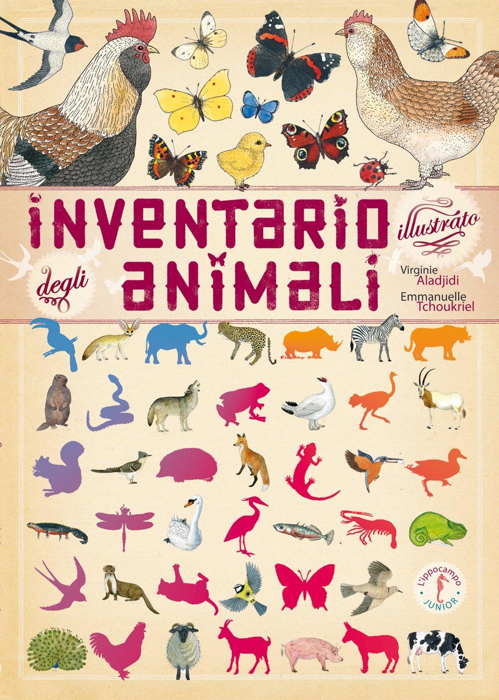 Inventario illustrato degli animali.