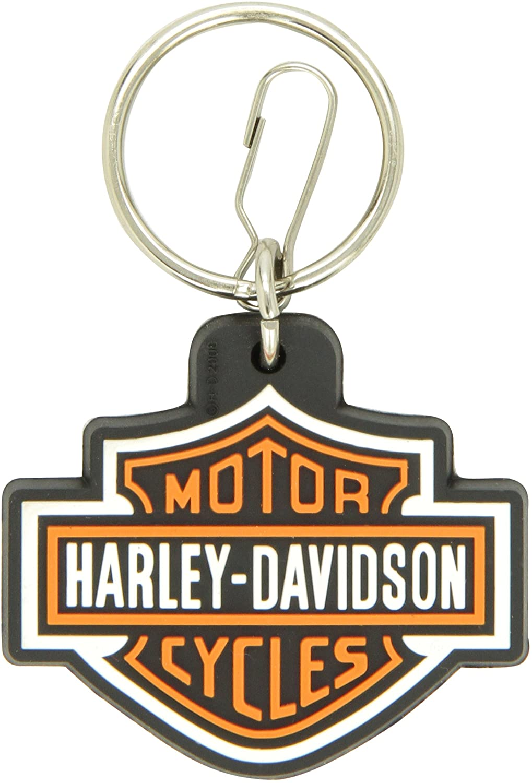 Plasticolor 4179 Harley-Davidson Logo Plastisol Key Chain
