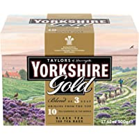 Deals on 160 Count Taylors of Harrogate Yorkshire Gold (Pack of 6)