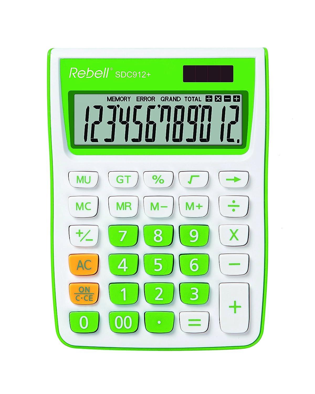 Rebell calcolatrice SDC912/ elegante/ /verde
