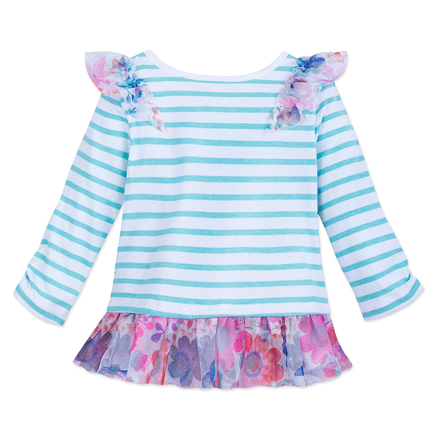 Disney Bambi Striped Top and Jean Set for Girls Furrytale Friends Blue