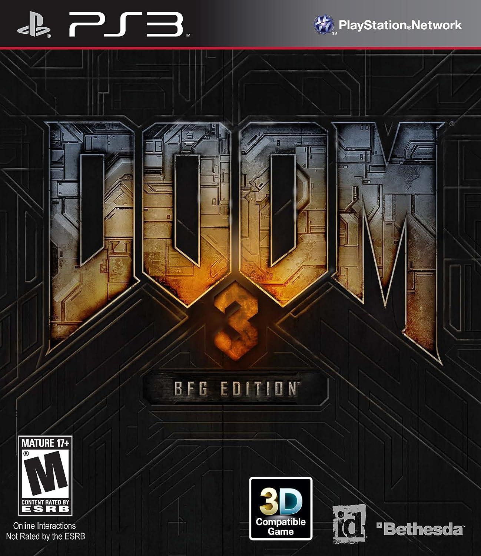amazon com doom 3 bfg edition playstation 3 bethesda softworks