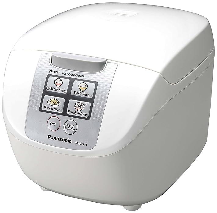 Panasonic sr-df181wxb - Cuiseur à riz/cuiseur vapeur, Capacité de ...