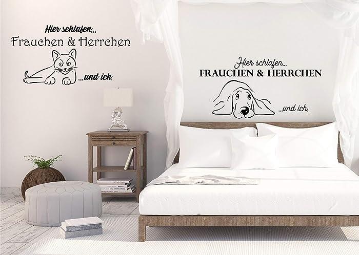 Wandaufkleber-Wandtattoo-Wandsticker - Schlafzimmer ***Hier ...