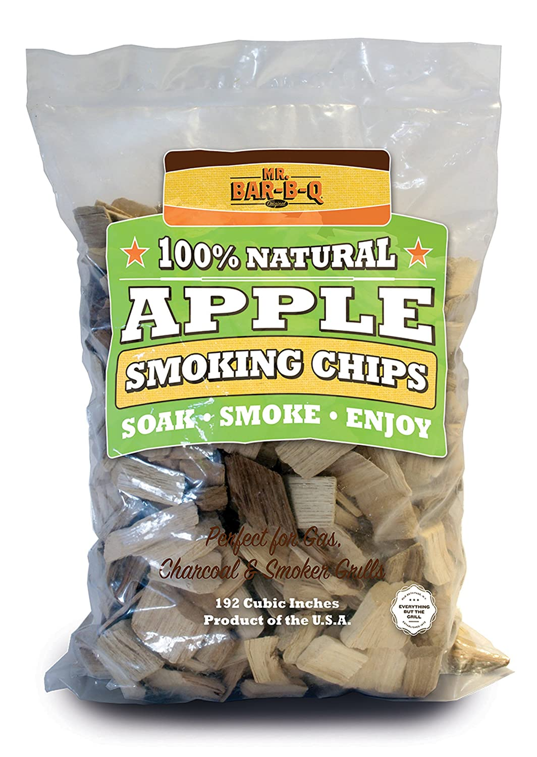 7. Mr Bar B Q 05012X Apple Wood Chips