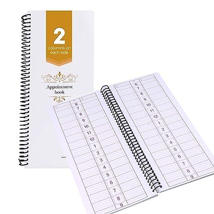 Libro de citas sin fechas, agenda de reservas, organizador ...