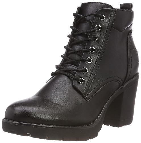 cheap for discount 07463 b91e2 MARCO TOZZI Women's 2-2-25204-31 002 Combat Boots: Amazon.co ...