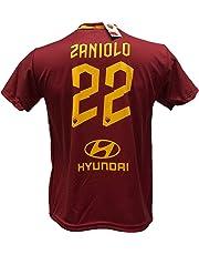 DND di D'Andolfo Ciro Maglia Calcio Zaniolo 22 Roma Replica autorizzata 2019-2020 Taglie da Bambino e Adulto