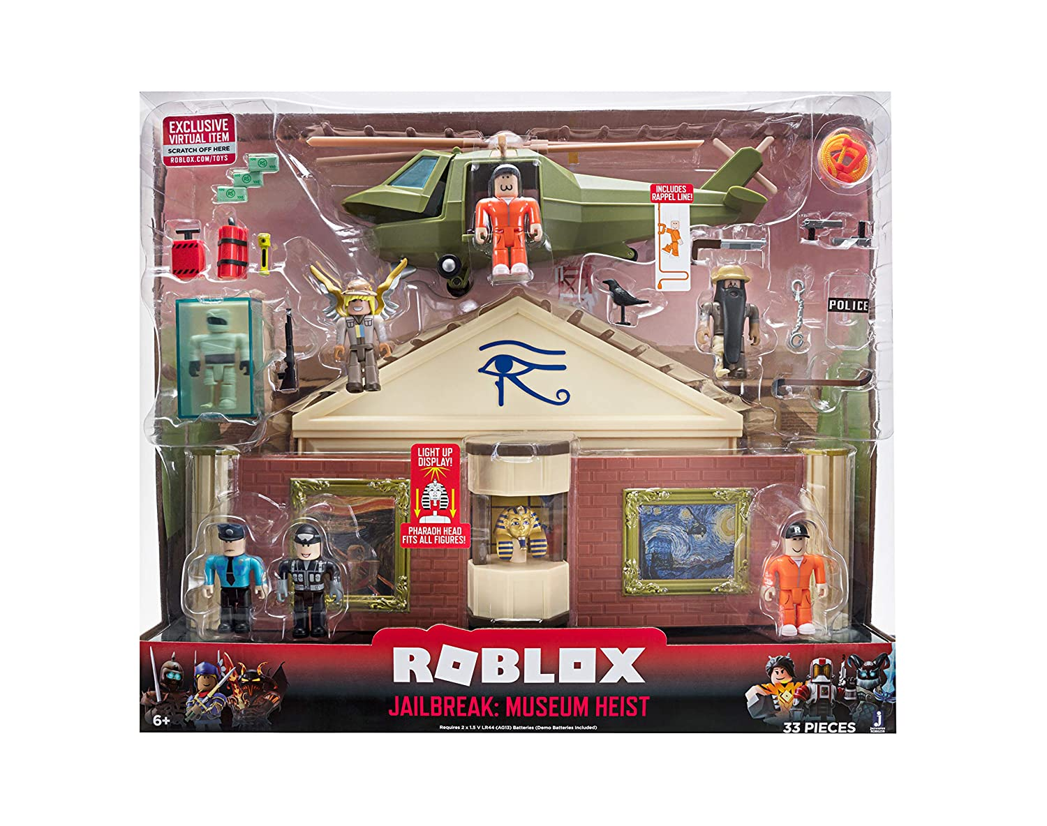 Roblox Jailbreak: Museum Heist Feature Playset