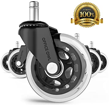 Amazon.com : Office Chair Wheels by Office Owl - for Smart Home ...