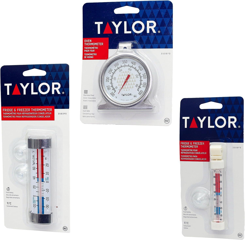 Juego de 3 termómetros surtidos, certificación NSF, termómetro ...