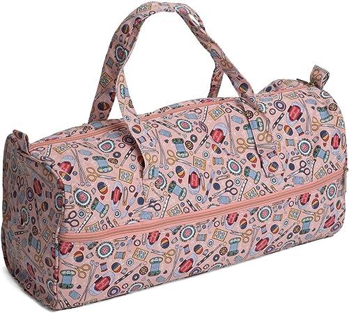 Hobby Gift MR4698//195 Hoot Print Knitting Bag 15x42x17/½
