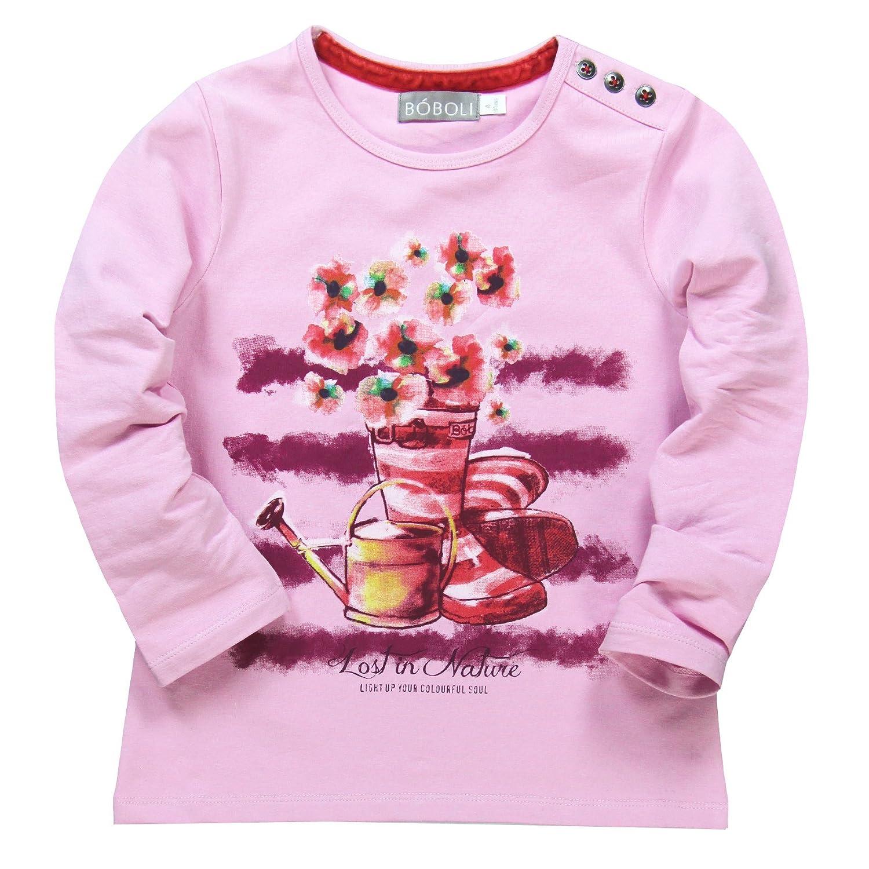 boboli Baby-M/ädchen T-Shirt Camiseta Punto Elastico