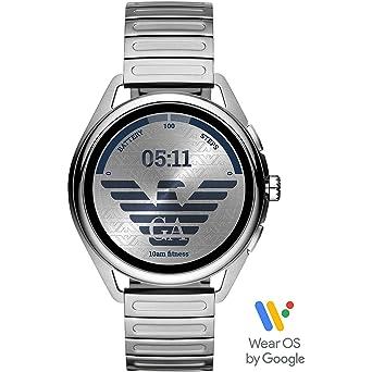Smartwatch Emporio Armani Matteo Gen 5 Silver ART5026: Amazon.es ...