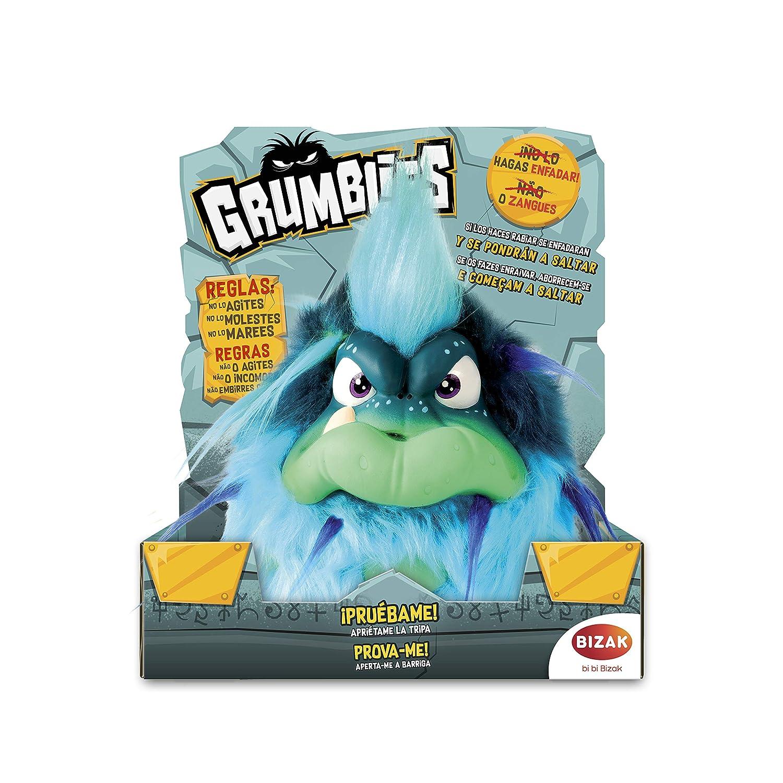 Grumblies- Peluche Electrónico, Color Azul (Bizak 63341891_2