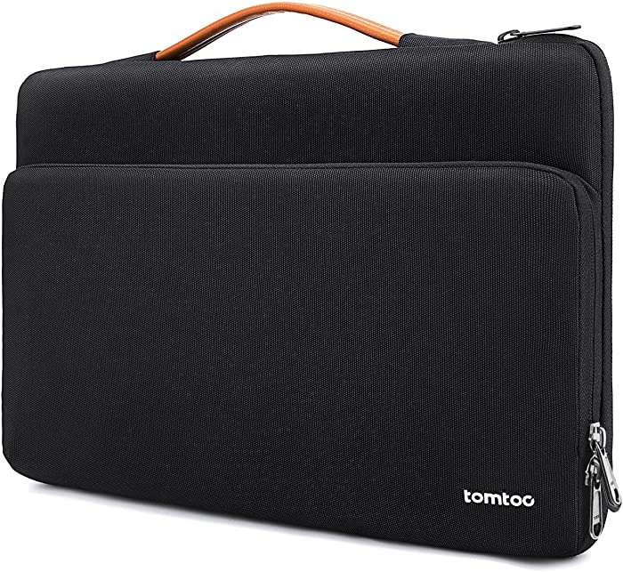 tomtoc 360 Protective Laptop Carrying Case for 12.3 Inch Surface Pro X/7/6/5/4, 13-inch New MacBook Air with Retina Display A2179 A1932, MacBook Pro USB-C A2251 A2289 A2159 A1989, Accessory Sleeve Bag