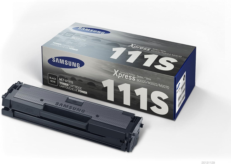 Samsung MLT-D111S/ELS Tóner para impresoras láse, 1000 páginas ...