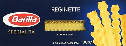 21 opinioni per Barilla- Reginette Napoletane, Pasta di Semola di Grano Duro- 500 g