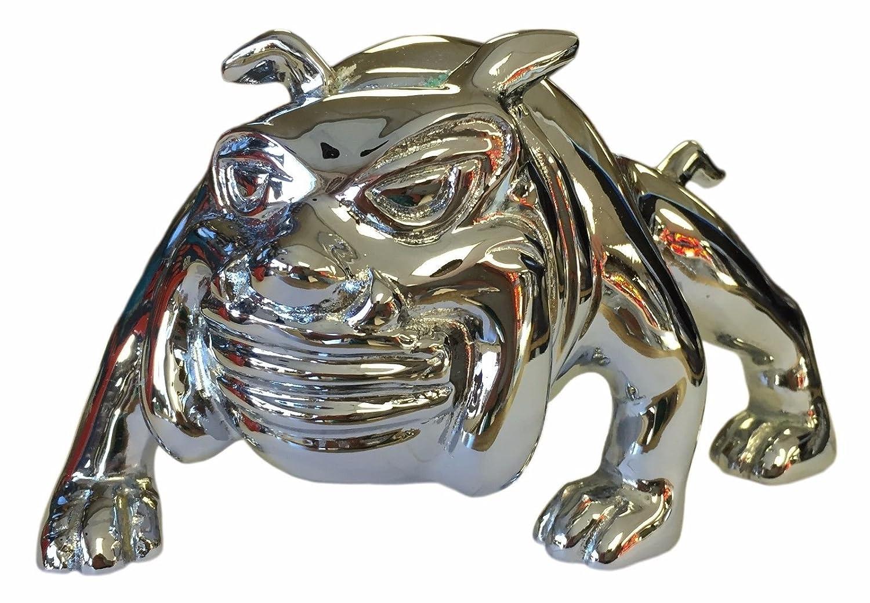 Peterbilt Freightliner Kenworth Mack CPW tm Bull Dog CHROME Hood Ornament Emblem