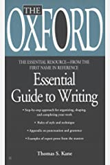 The Oxford Essential Guide to Writing (Essential Resource Library) Mass Market Paperback