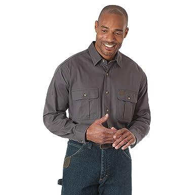 523be353c7 Amazon.com: Wrangler Men's Riggs Workwear Work Shirt: Clothing