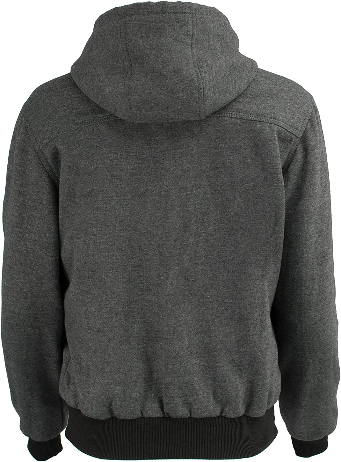 3X-Large, Black Womens Zipper Front Thermal Lined Heated Hoodie Milwaukee Performance