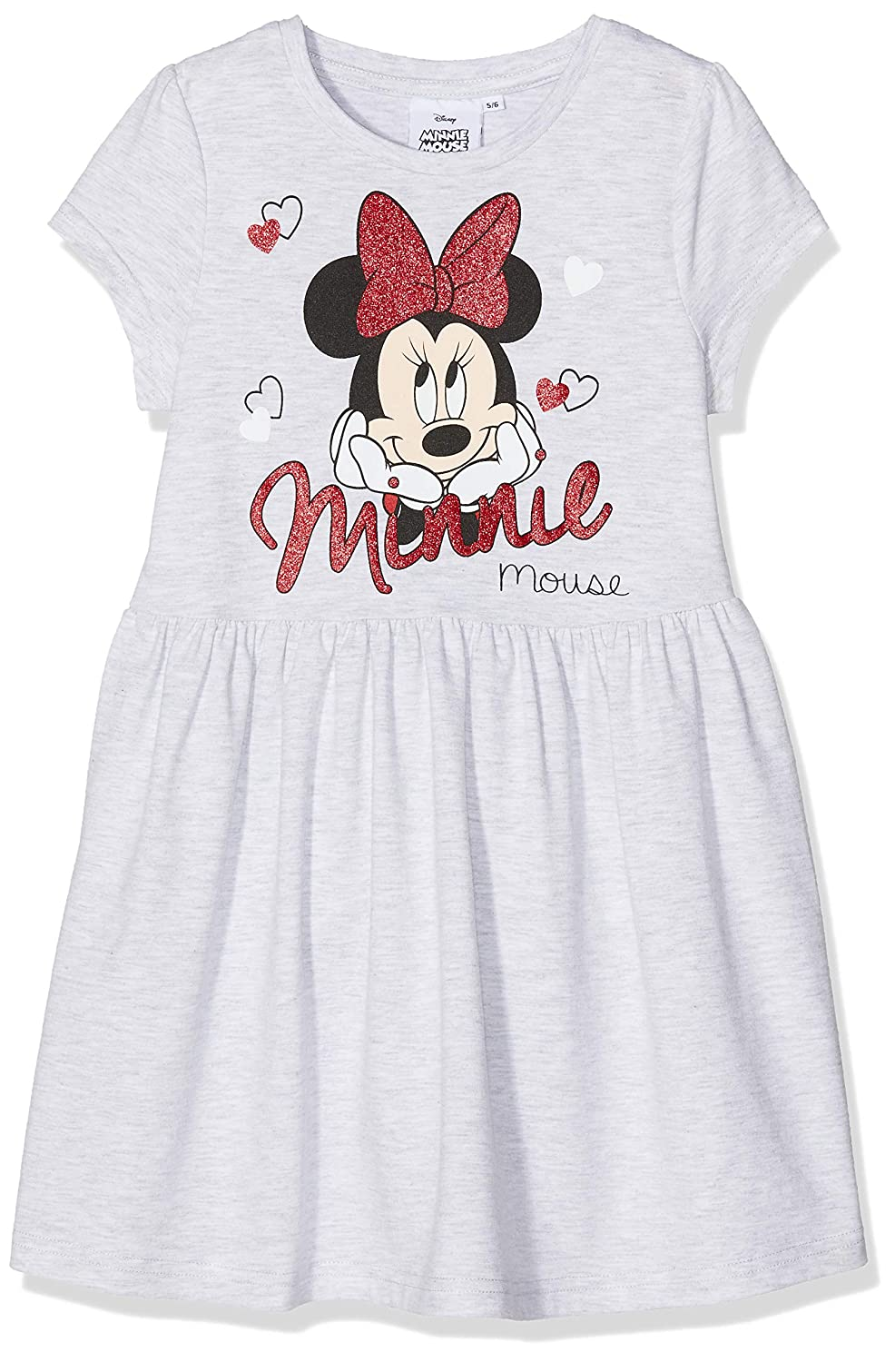 Disney Minnie Mouse Minnie Mouse Heads And Hearts, Vestito Bambina MO51399