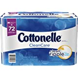 Cottonelle CleanCare Toilet Paper, Bath Tissue, 36 Double Rolls