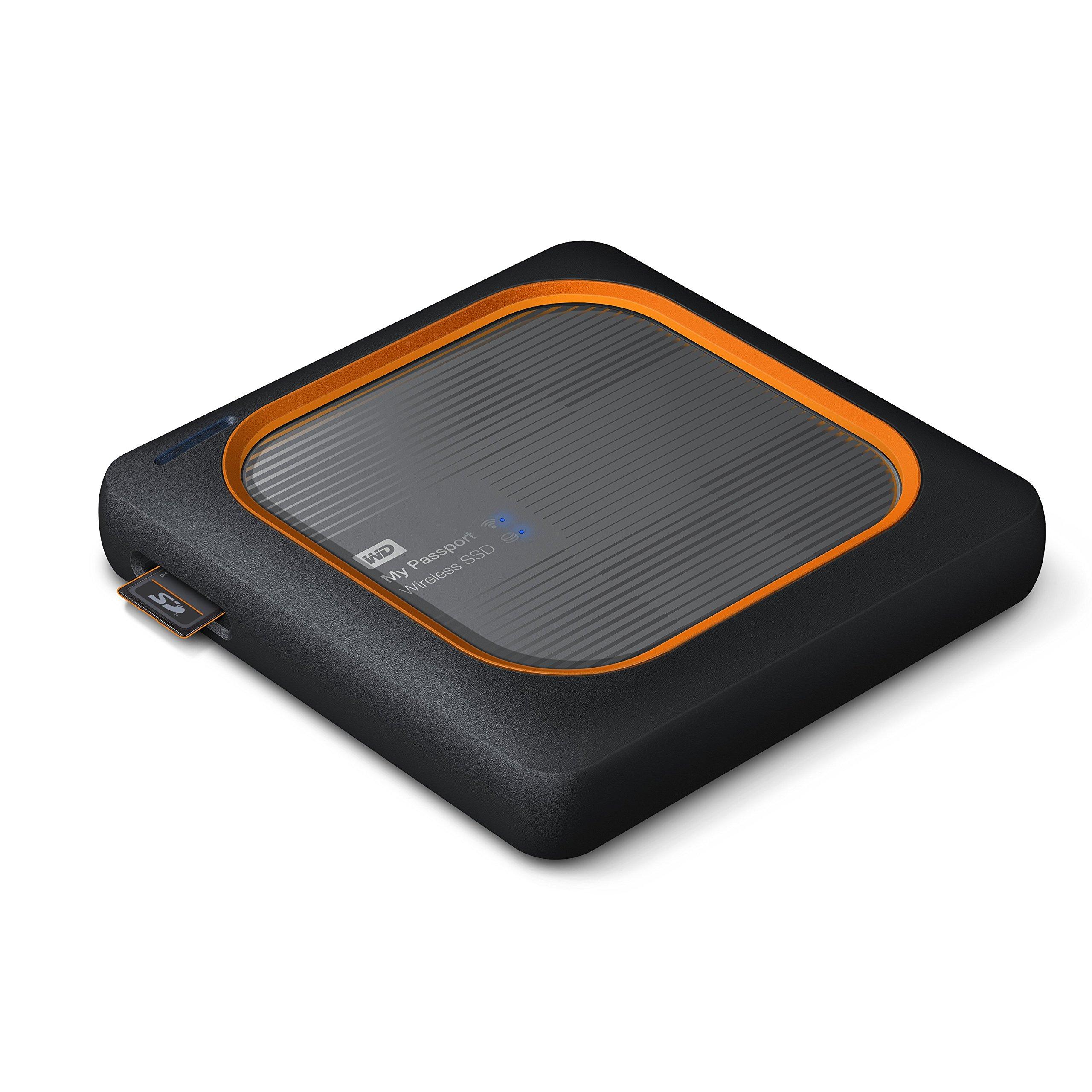 WD 250GB My Passport Wireless SSD External Portable Drive - WiFi USB 3.0 -WDBAMJ2500AGY-NESN by Western Digital (Image #3)