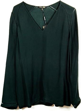 MASSIMO DUTTI Camisas - Para Mujer Verde Verde XL: Amazon.es: Ropa y accesorios