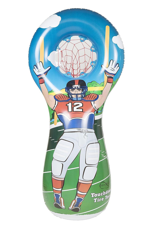Amazon.com: ImpiriLux - Juego de fútbol hinchable con 3 mini ...