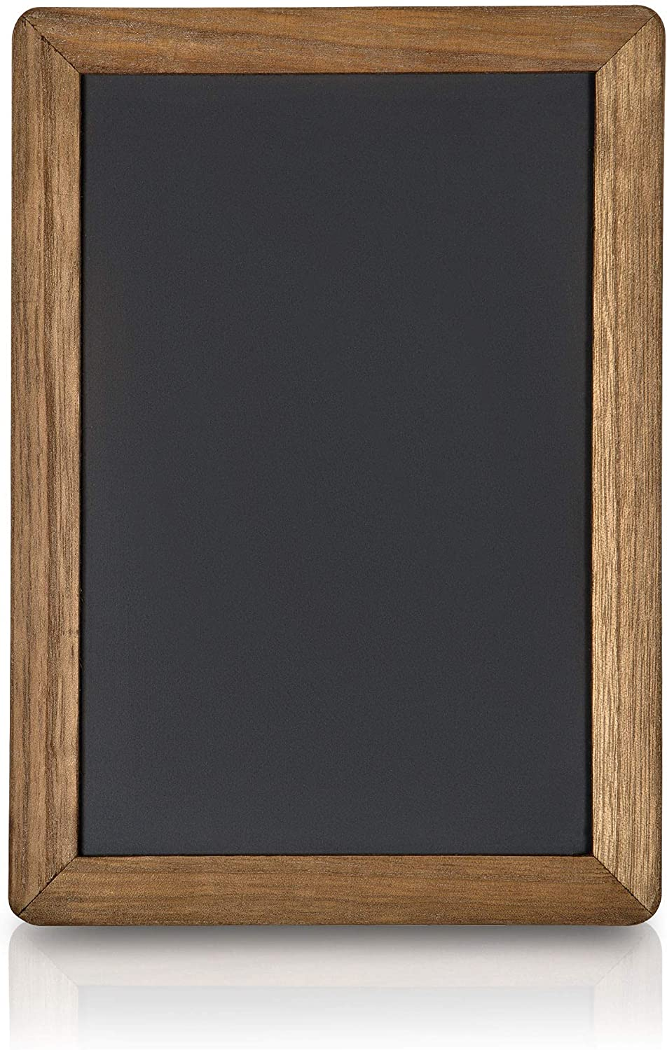 Amazon Com Rustic Magnetic Chalk Boards With Frame 10x14 Magnetic Surface Double Sided Wet Erase Small Chalkboard Signs For Bistro Signs Kitchen Business Restaurant Menu Wedding Decor Office Products