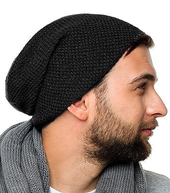816d27c480d Feinzwirn Osaka - Strick Beanie Mütze für Herren und Damen - Strickmütze  100% Baumwolle (