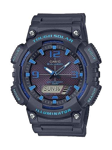 CASIO Reloj Analógico-Digital para Hombre de Cuarzo con Correa en Resina AQ-S810W-8A2VEF: Amazon.es: Relojes