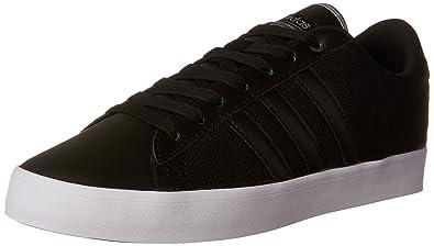 best website 7652d dc059 adidas Womens Cloudfoam Daily QT LX Sneakers, Core BlackCore BlackSilver  Metallicallic