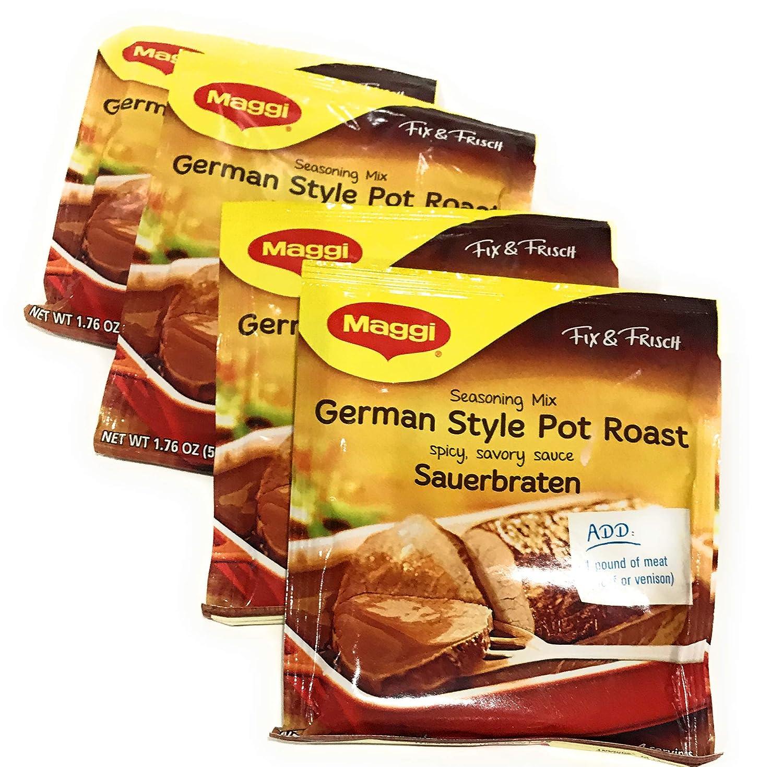 Maggi Pot Roast, Sauerbraten 1.62 Oz (Pack of 4)
