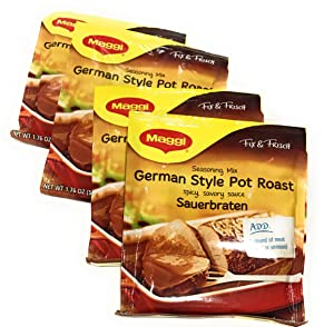 Maggi Pot Roast, Sauerbraten 1.62 Oz (Pack of 4)