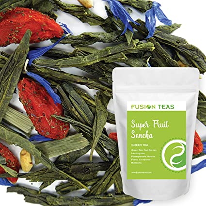 Amazon Com Superfruit Sencha Green Tea With Goji Berries