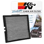 K&N Engineering VF2044 - Filtro de aire para cabina múltiple