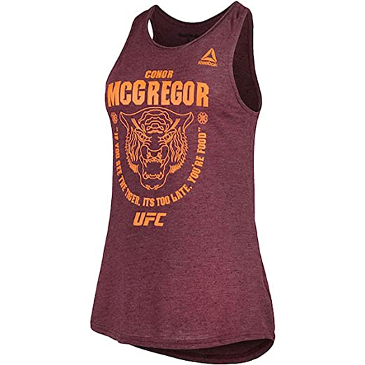 d2c71bfb5e43d Reebok Conor McGregor UFC Tiger Food Womens Tank at Amazon Women's ...