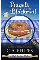 Bagels and Blackmail (Maple Lane Mysteries Book 2) Kindle Edition