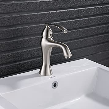 Yodel Bathroom Sink Faucet, Brushed Nickel - - Amazon.com