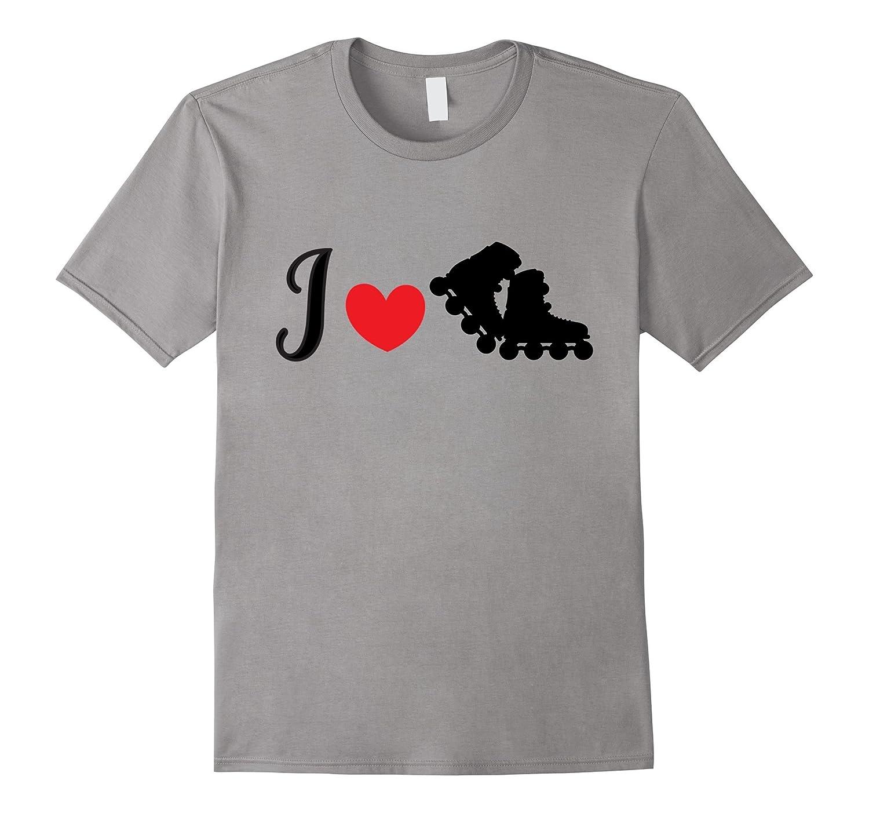Roller Skate T Shirts - I Love Roller Skating-CD