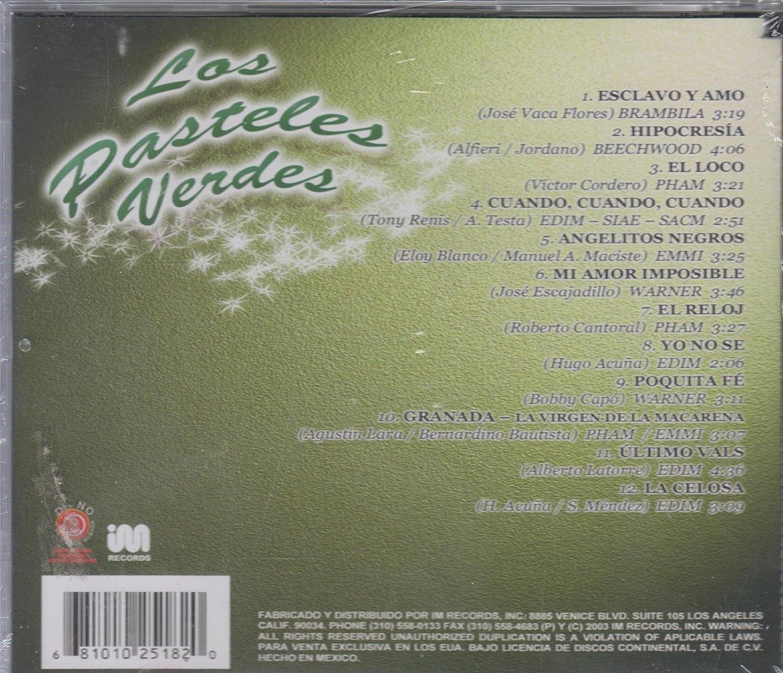 - 12 EXITOS DE LOS PASTELES VERDES - Amazon.com Music