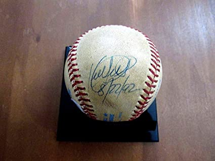 edb813369b361 Image Unavailable. Image not available for. Color  Kirby Puckett Minnesota  Twins Hof Signed ...