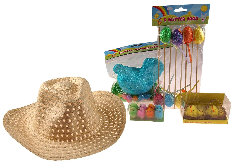 Boys Cowboy Easter Hat