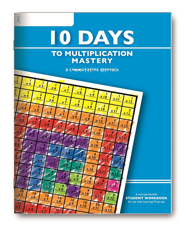Amazon.com: Learning Wrap-ups 10 Days to Multiplication Mastery ...