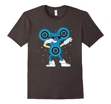 Amazon.com: Dab Fidget Spinner T-Shirt Cool Dabbing Tee: Clothing