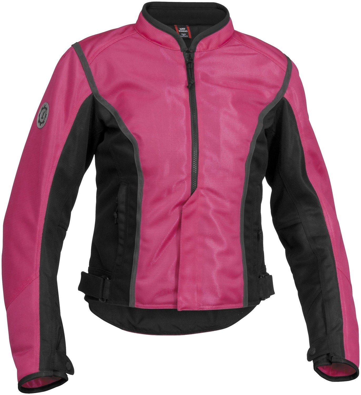 Firstgear Women's Contour Mesh Pink/Black Jacket, XS